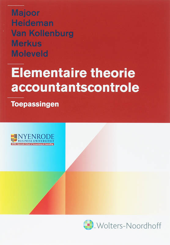 Elementaire theorie accountantscontrole
