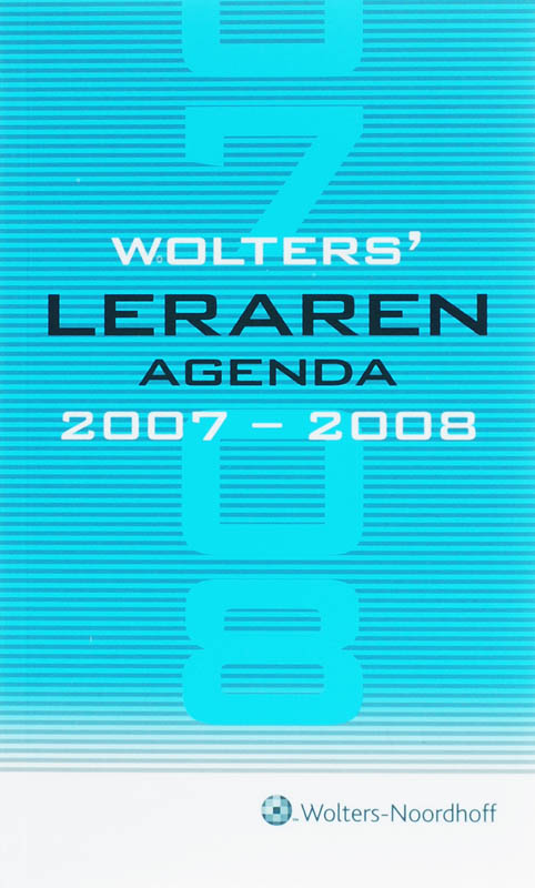 Wolters Lerarenagenda 2007-2008
