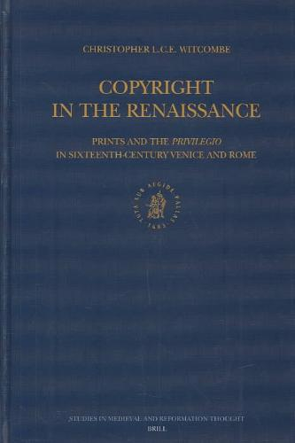 Copyright in the Renaissance