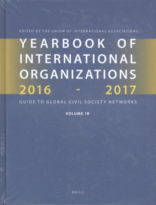 Yearbook of International Organizations 2016-2017