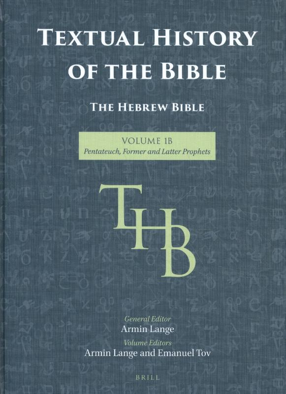Textual History of the Bible Vol. 1B