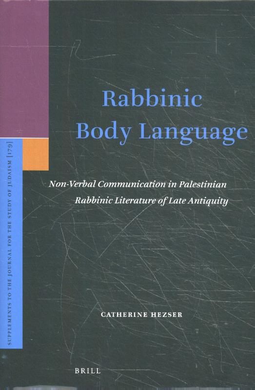 Rabbinic Body Language