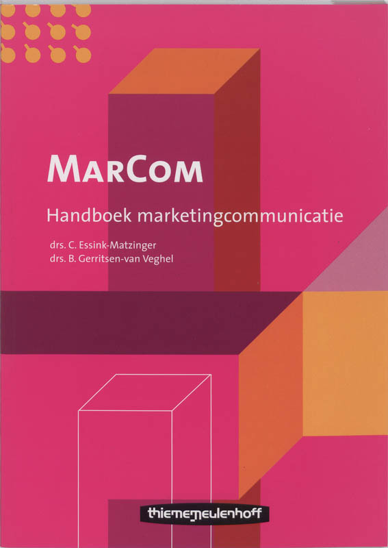 Marcom handboek marketingcommunicatie