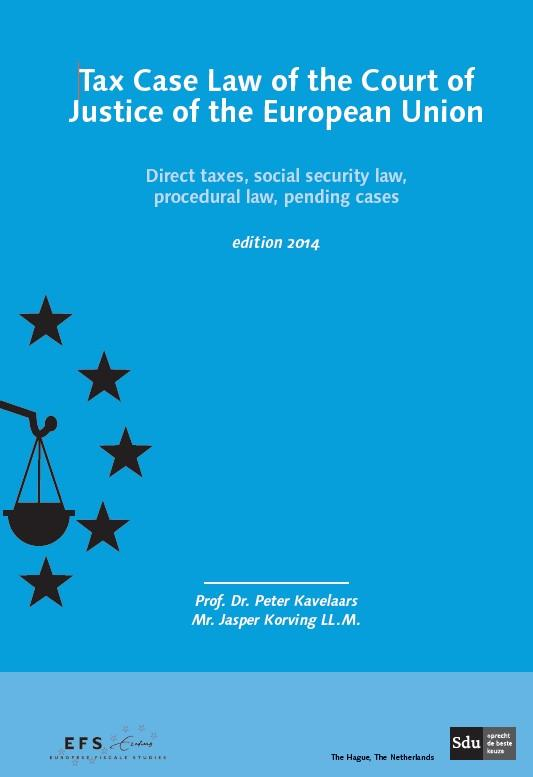 Tax case law of the court of justice of the European union
