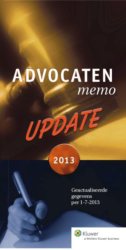 Update advocatenmemo