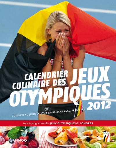 Agenda culinaire jeux olympiques