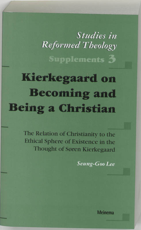 Kierkegaard on Becoming and Being a Christian