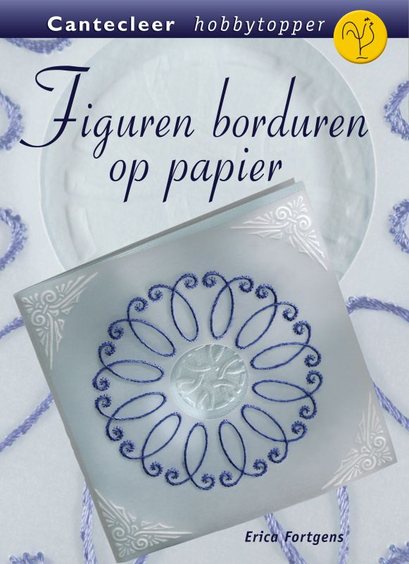 Figuren borduren op papier
