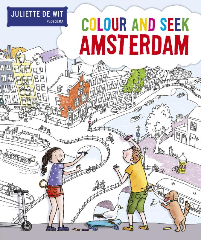 Colour and seek Amsterdam
