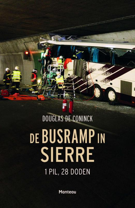 De busramp in Sierre