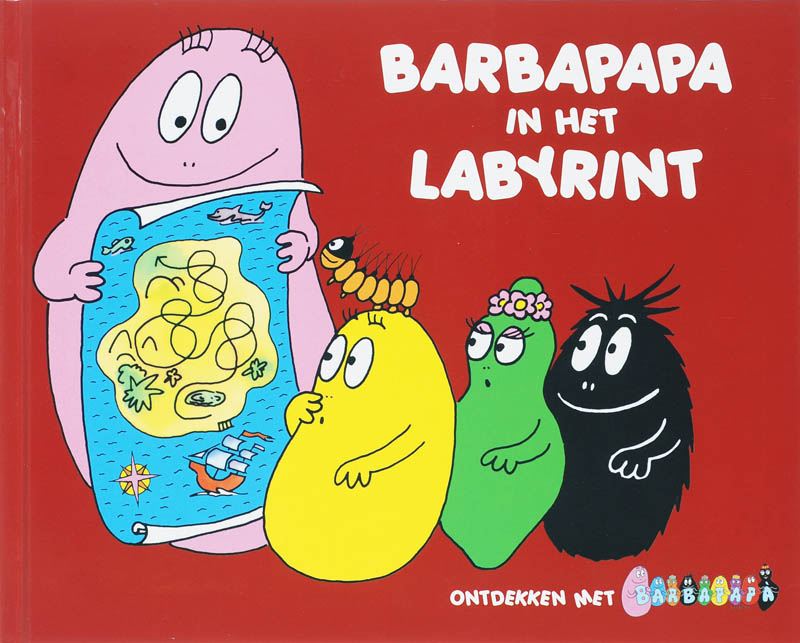 Barbapapa in het labyrint