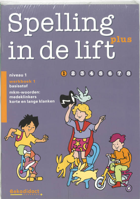 Spelling in de lift plus pakket 10 ex