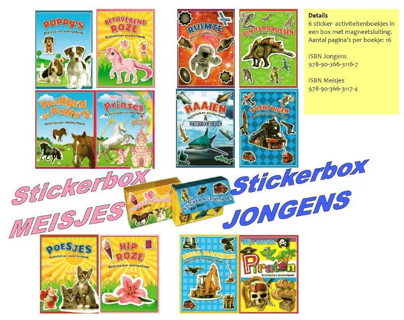 Activiteiten sticker box