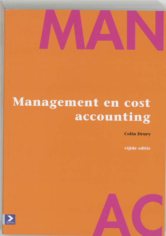 Management en cost accounting