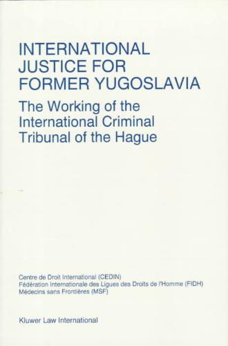 International Justice for Former Yugoslavia