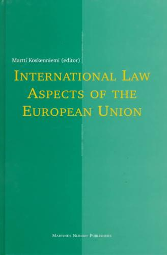 International Law Aspects of the European Union