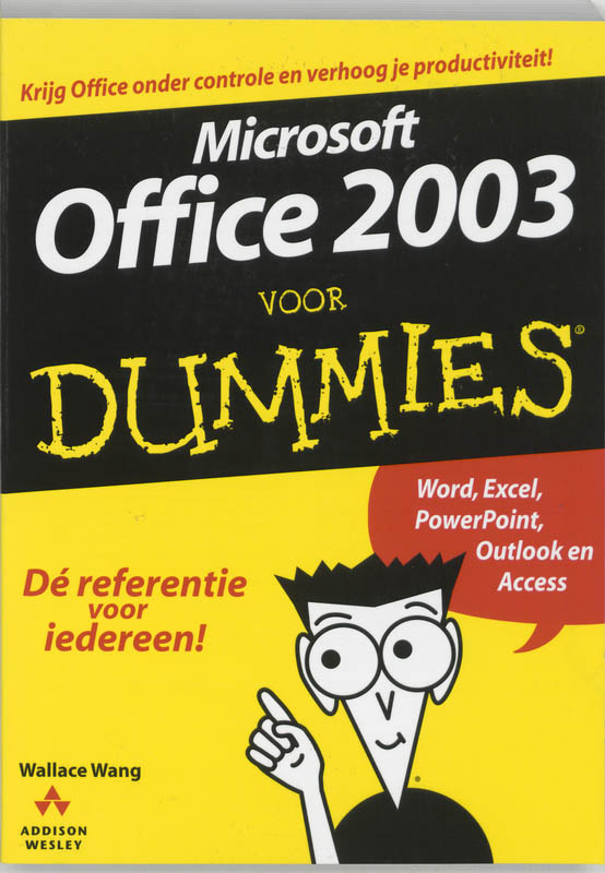 Microsoft Office 2003 voor Dummies