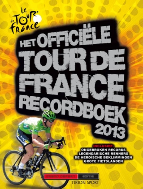Het officiele Tour de France recordboek