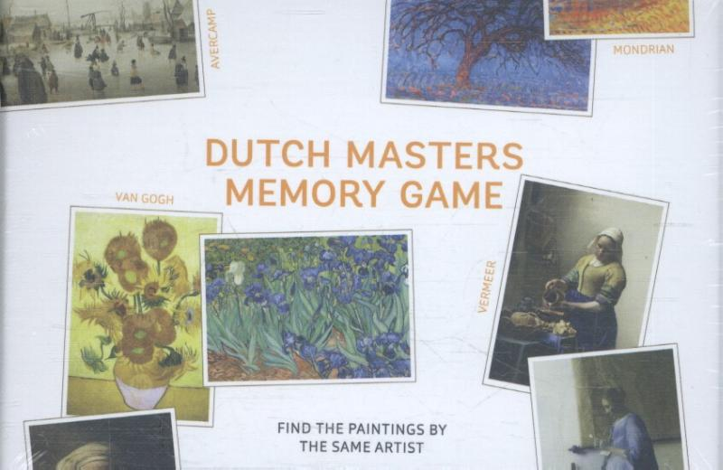 Dutch masters memory game