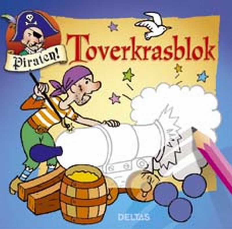 Piraten toverkrasblok