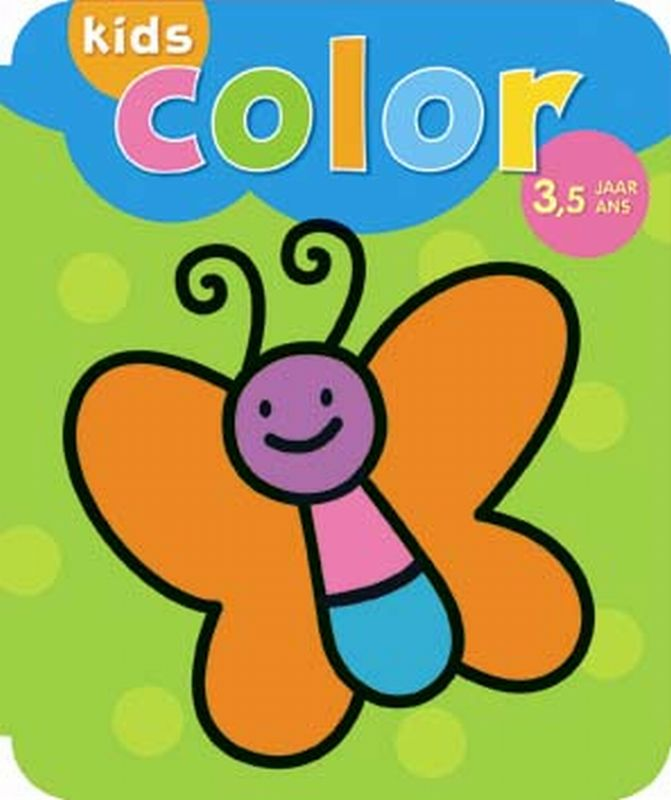Kids color 3,5 jaar / kids color 3,5 ans