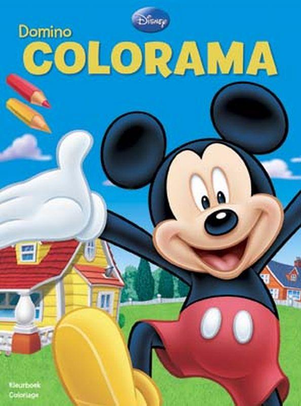 Disney domino colorama mickey / disney domino colorama mickey