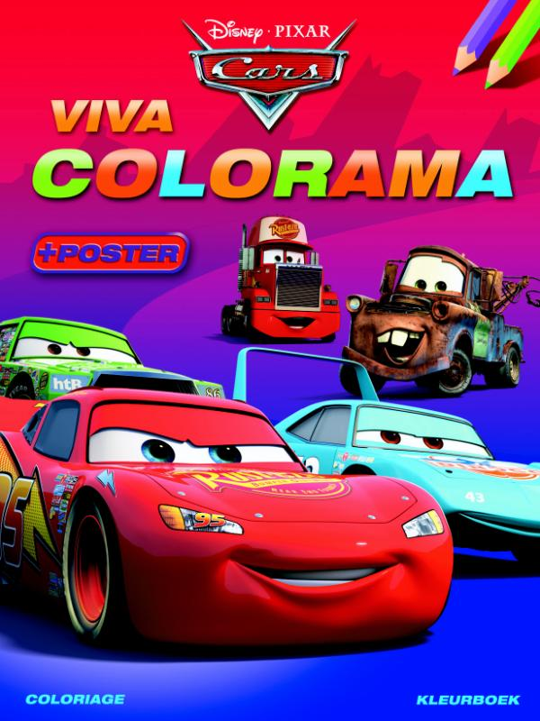 Disney cars viva colorama