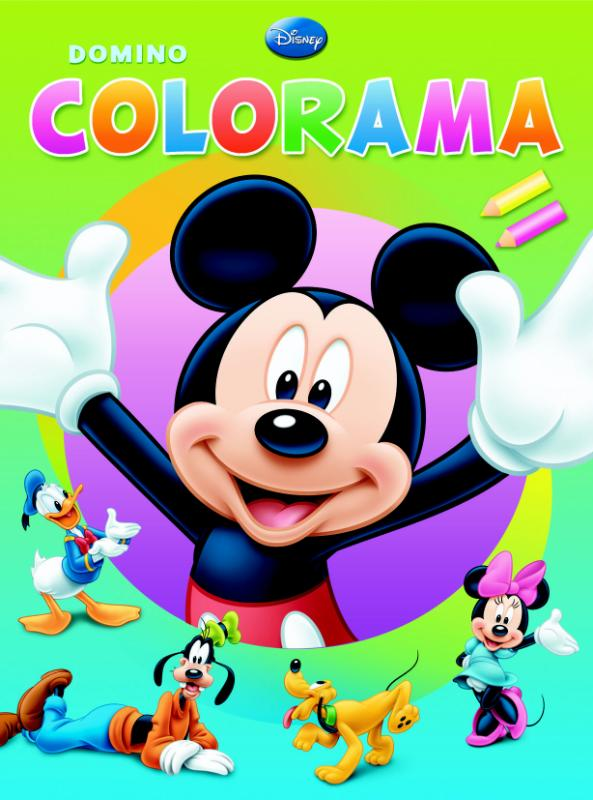 Disney domino colorama Mickey