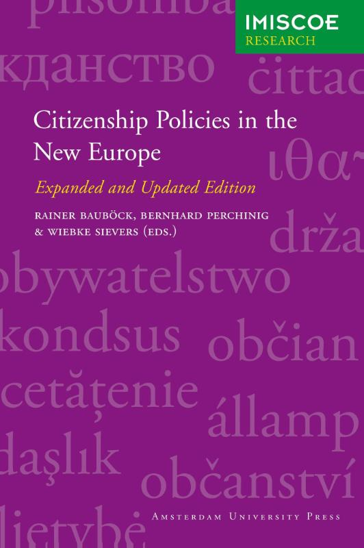 Citizenship policies in the New Europe