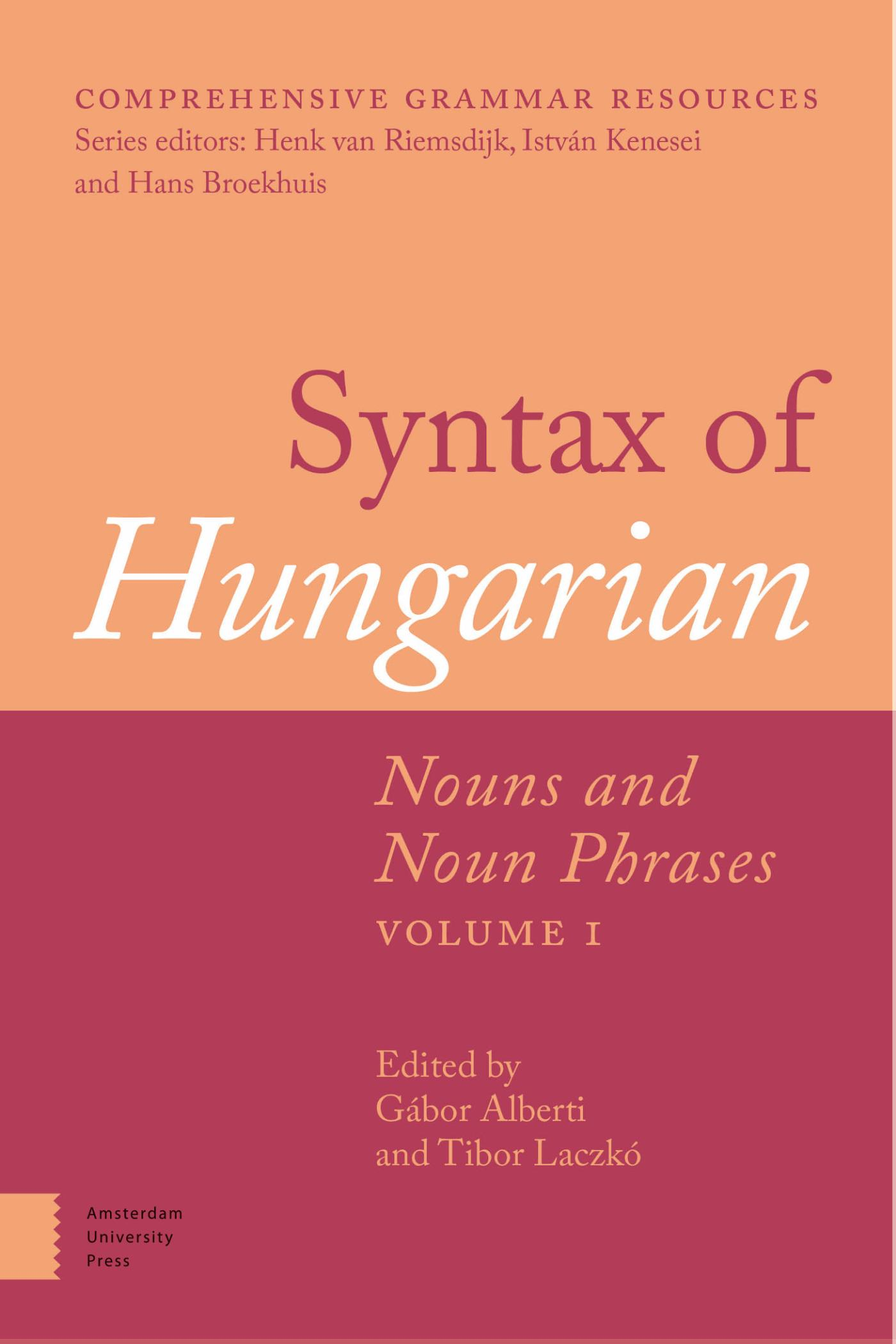 Syntax of Hungarian