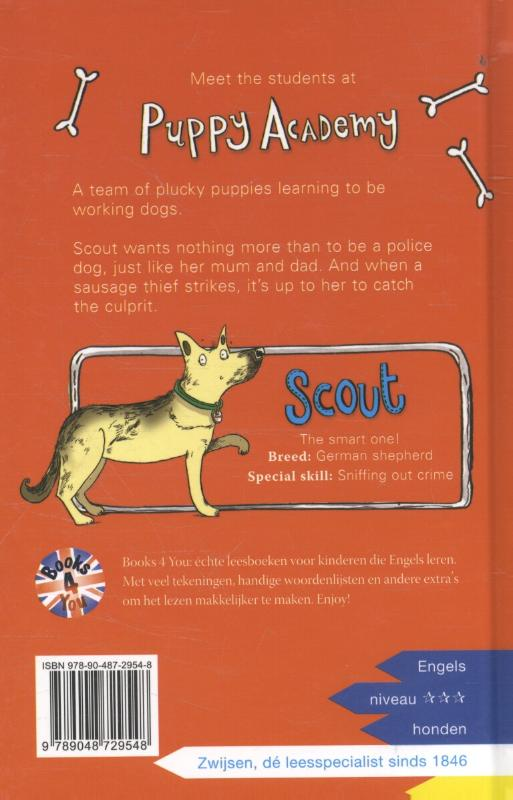 Scout and the sausage thief image