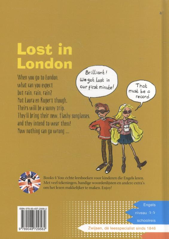 Lost in London image