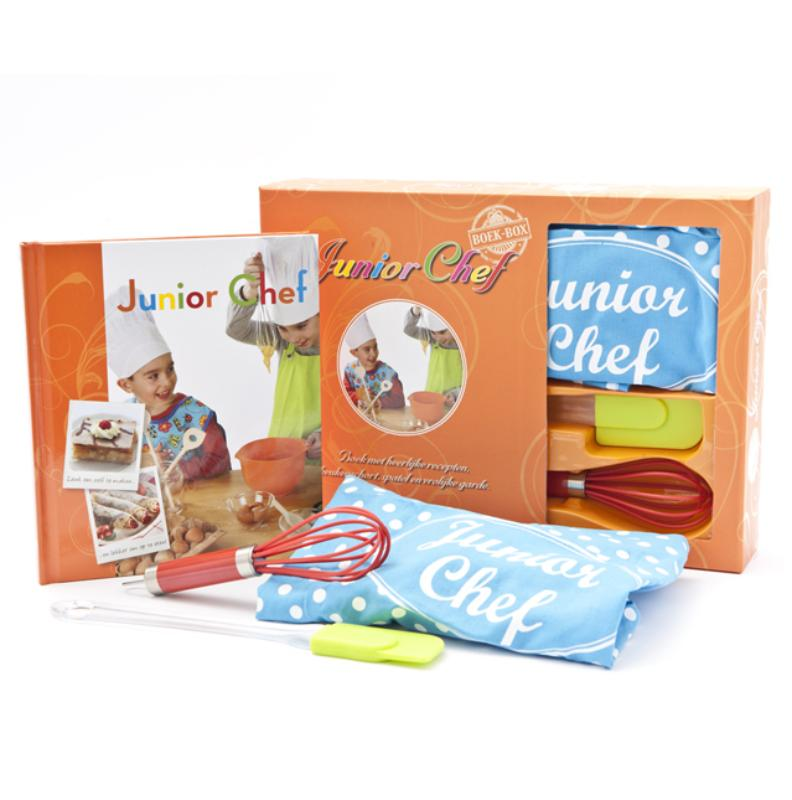 Junior-chef boek-box