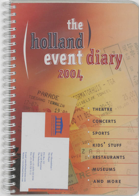 The Holland Event Diary