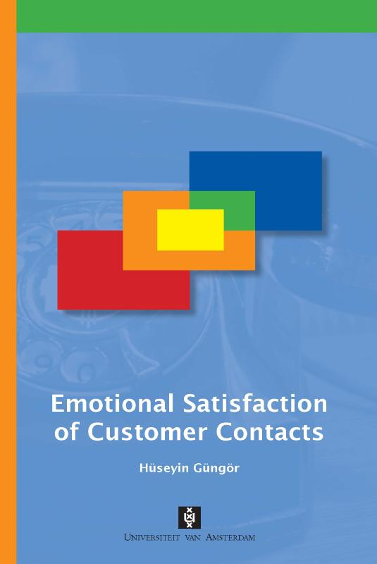 Emotional Satisfaction of Customer Contacts