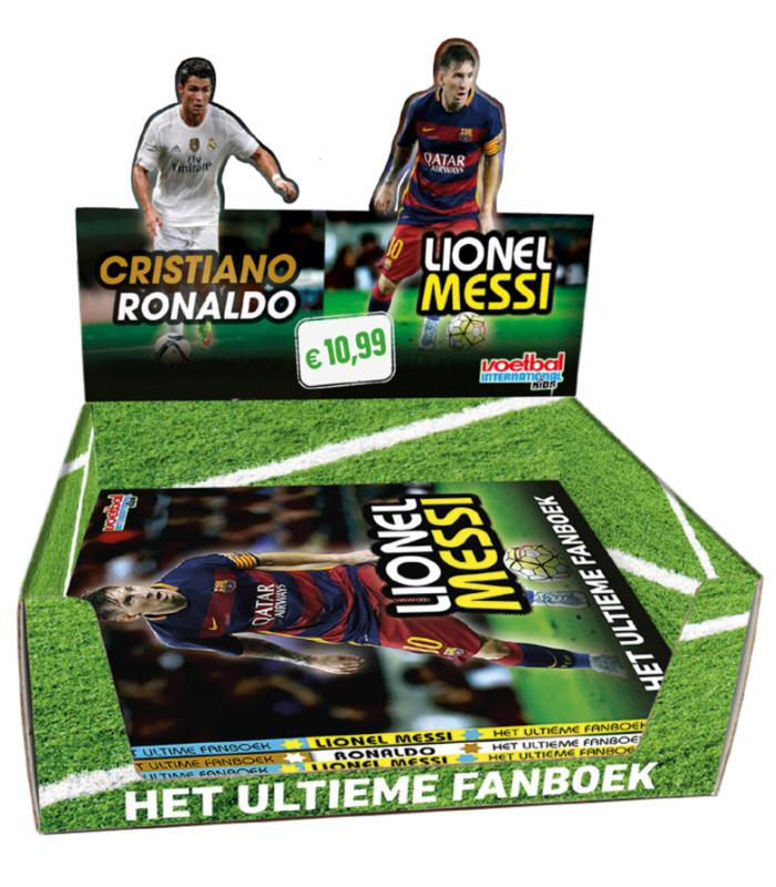 Ultieme Fanboek Messi/Ronaldo Display 5*2