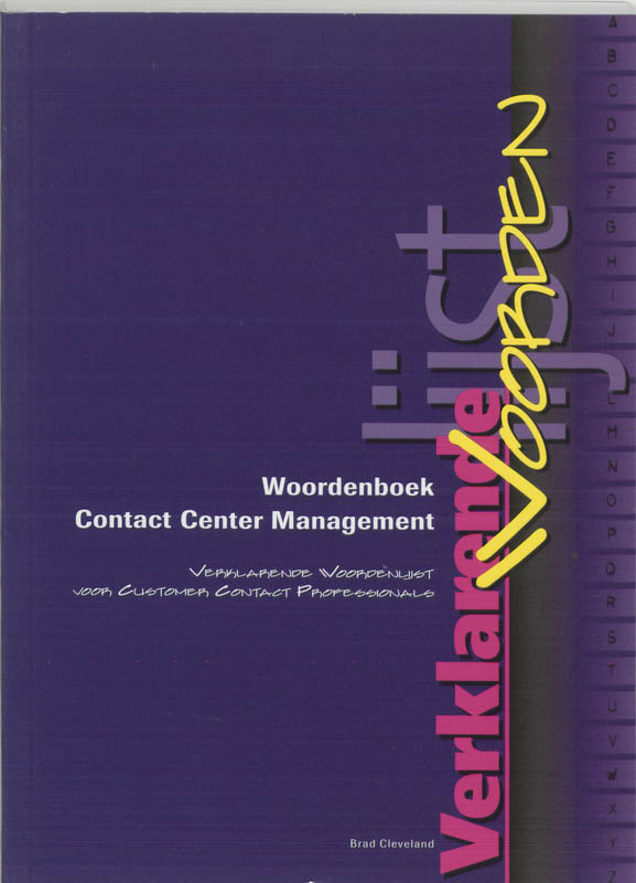 Woordenboek Contact Center Management