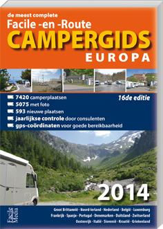 Campergids facile-en-route Europa