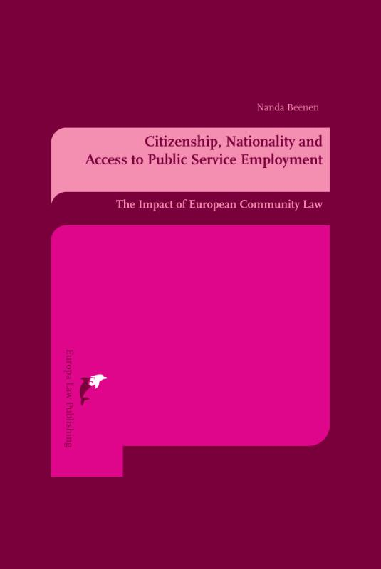 Citizenship, nationality and access to public service employment