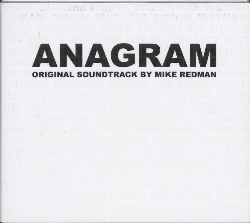 Orginal soundtrack ANAGRAM