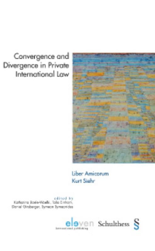 Convergence and divergence in private international law