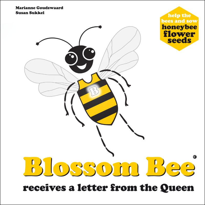 Blossom Bee receives a letter from the queen