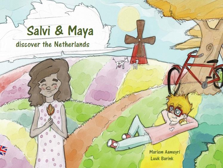 Salvi and Maya discover the Netherlands
