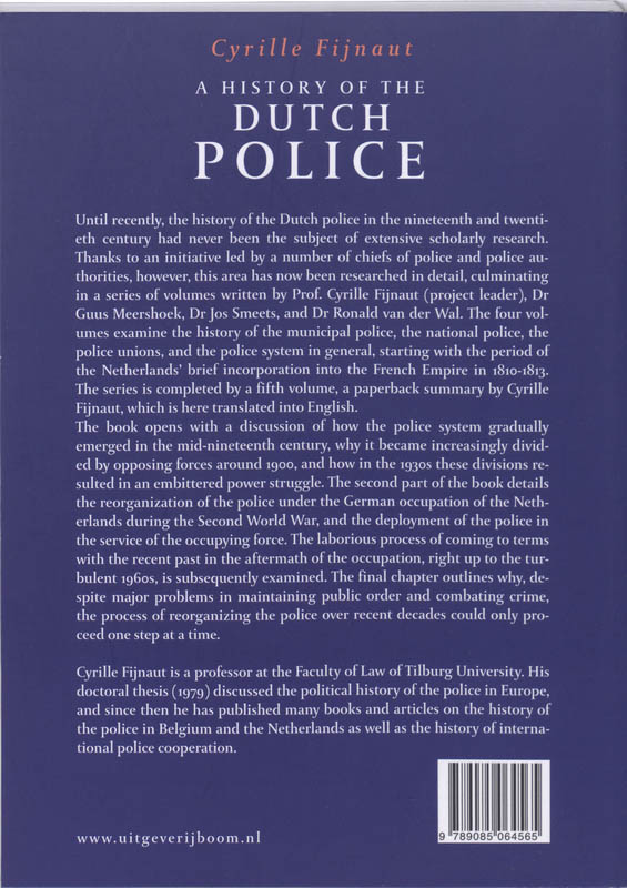 A History of the Dutch Police image