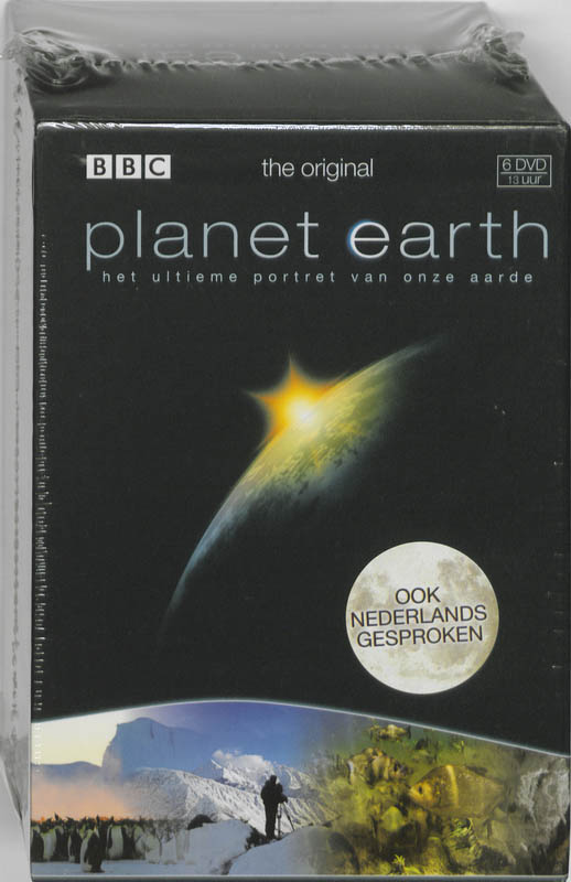 Planet Earth 6 DVD Box