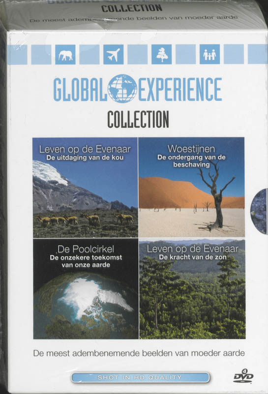 Global experience collection set 4 DVD'S