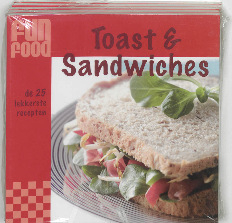 FunFood Toast & Sandwiches 5 ex