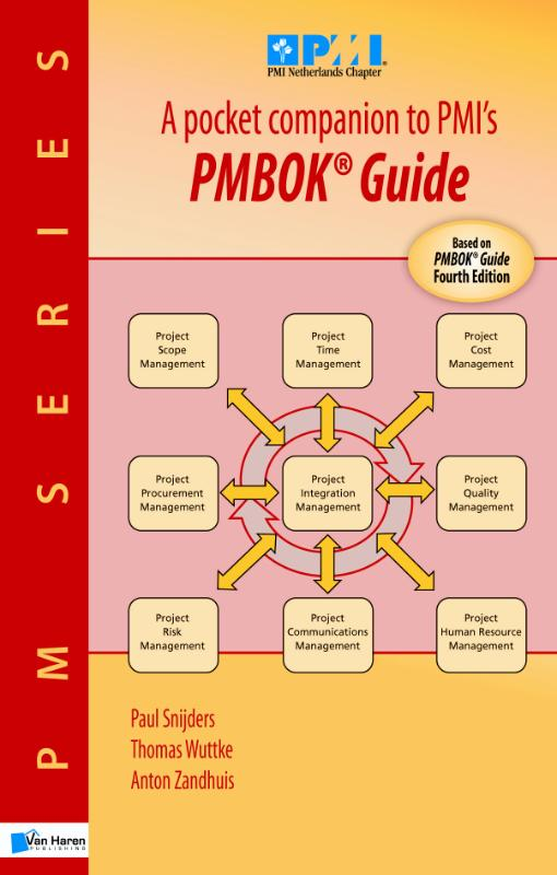 A pocket companion to PMIs PMBOK guide