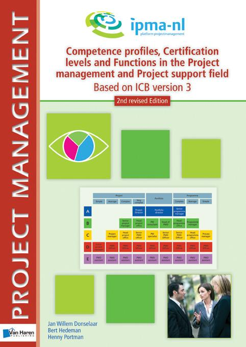 Competence profiles, certification levels and functions in the project management and project support environment