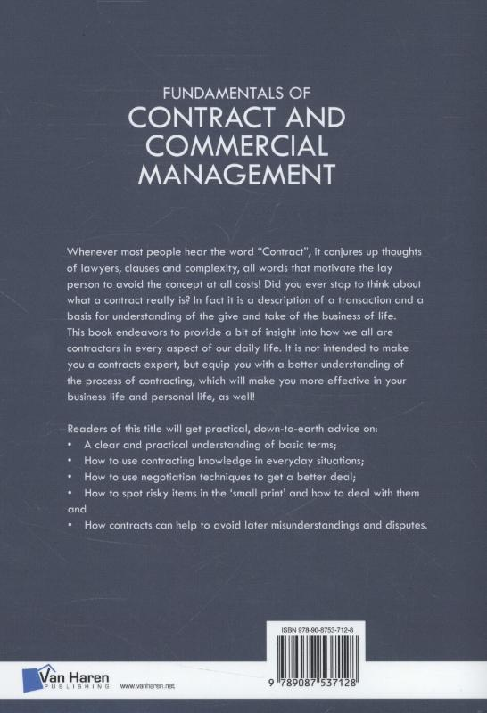 Fundamentals of contract and commercial management image
